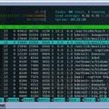 Скриншот 1 программы htop