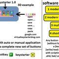 Скриншот 1 программы keystarter