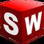 Иконка программы SolidWorks