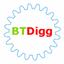 Иконка программы BTDigg