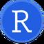 Иконка программы RStudio