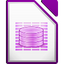 Иконка программы LibreOffice - Base