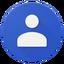 Иконка программы Google Contacts
