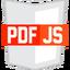 Иконка программы Firefox PDF Viewer (PDF.js)