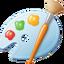 Иконка программы Microsoft Paint
