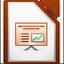 Иконка программы LibreOffice - Impress