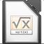 Иконка программы LibreOffice - Math