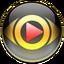 Иконка программы CyberLink PowerDVD