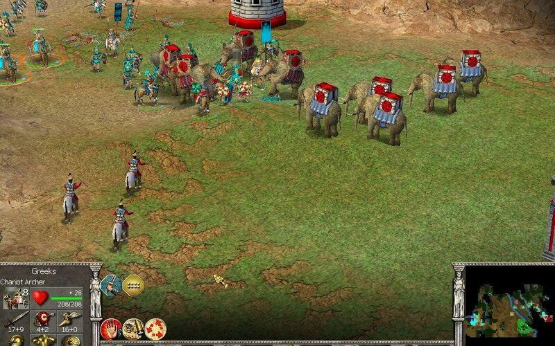 Скриншот 1 программы Empire Earth