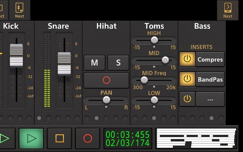 Скриншот 1 программы Audio Evolution