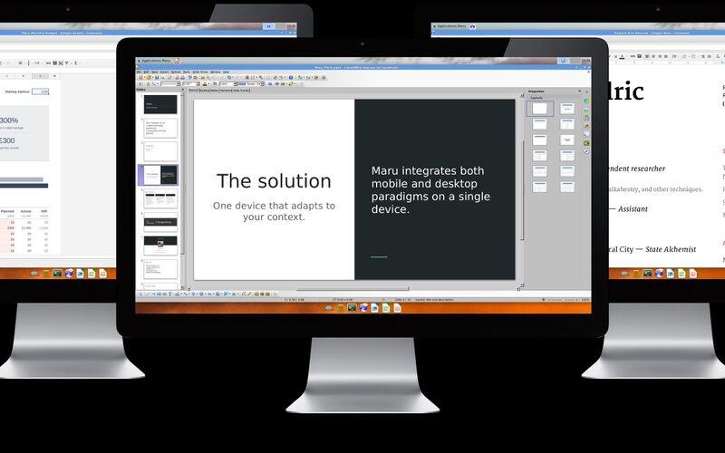 Скриншот 1 программы Maru