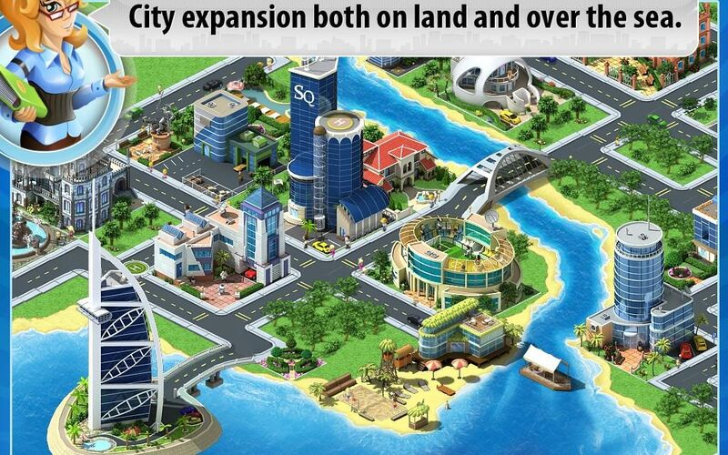Скриншот 1 программы Megapolis