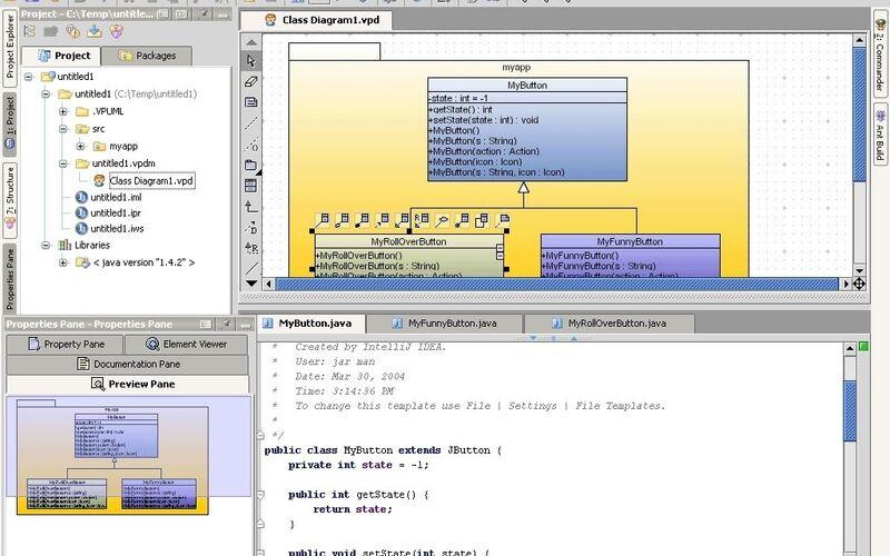 Скриншот 1 программы IntelliJ IDEA