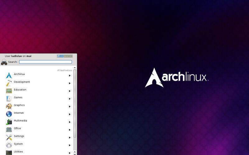 Скриншот 1 программы Arch Linux