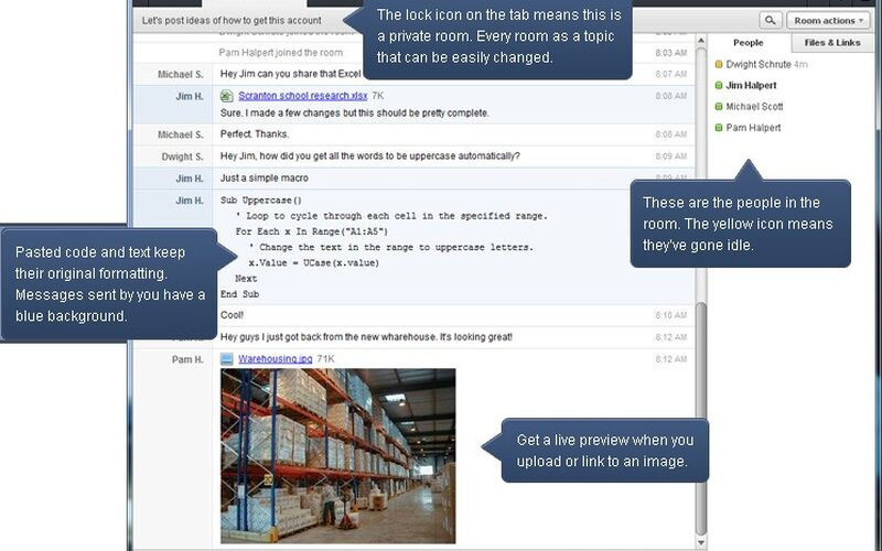 Скриншот 1 программы HipChat