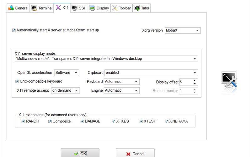 Скриншот 1 программы MobaXterm