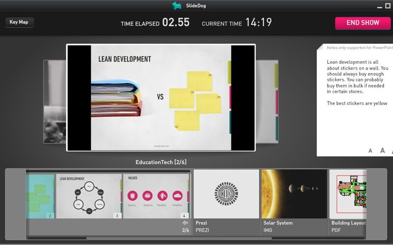 Скриншот 1 программы SlideDog