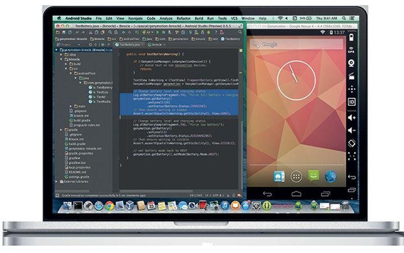 Скриншот 1 программы Genymotion
