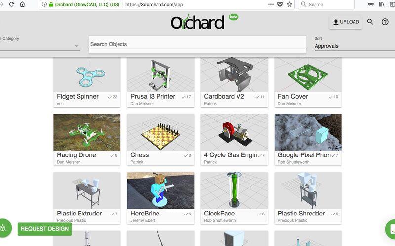 Скриншот 1 программы 3D Orchard