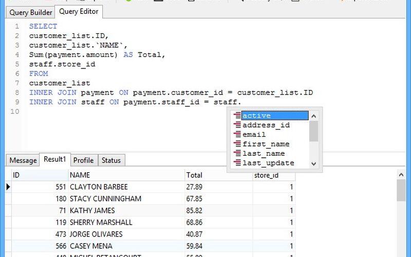 Скриншот 1 программы Navicat