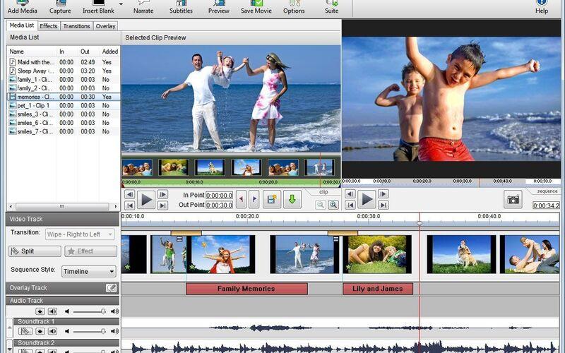 Скриншот 1 программы VideoPad