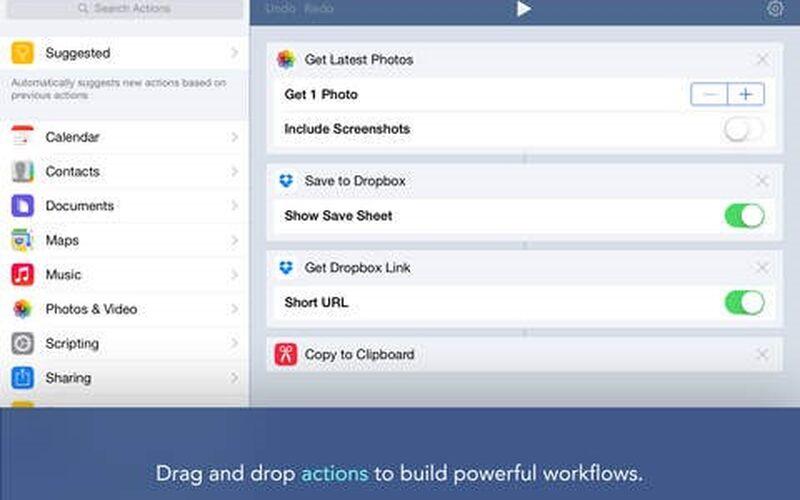 Скриншот 1 программы Workflow