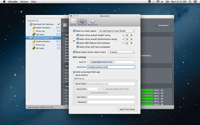 Скриншот 1 программы DriveDx