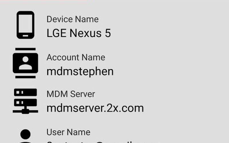 Скриншот 1 программы Parallels 2X MDM