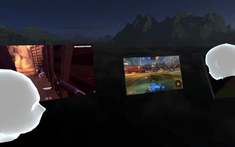Скриншот 1 программы BigScreen VR