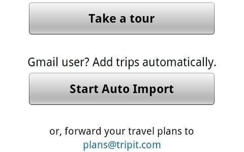 Скриншот 1 программы TripIt