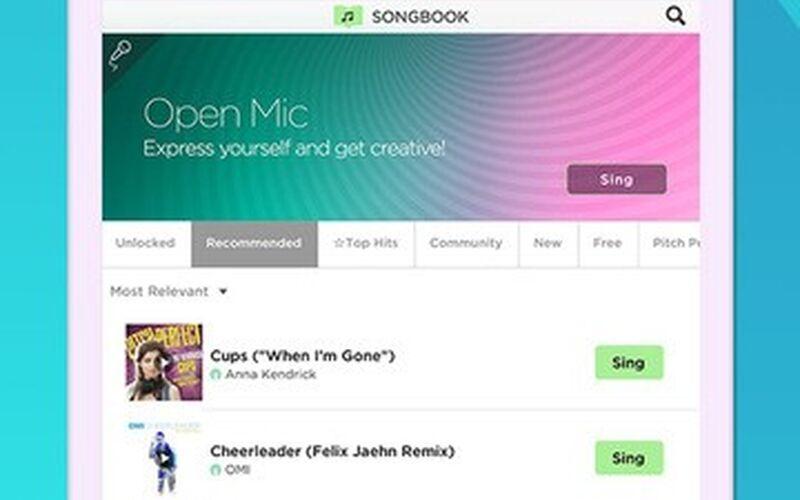 Скриншот 1 программы Sing! Karaoke