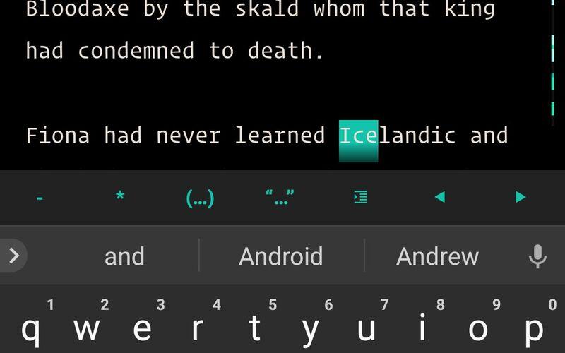 Скриншот 1 программы JotterPad