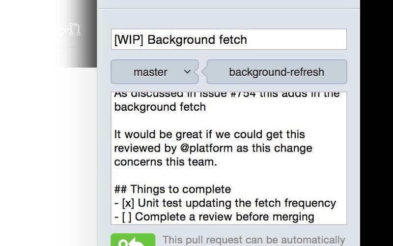 Скриншот 1 программы GitHub Desktop