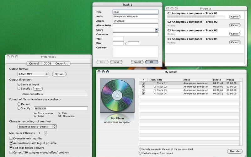 Скриншот 1 программы X Lossless Decoder