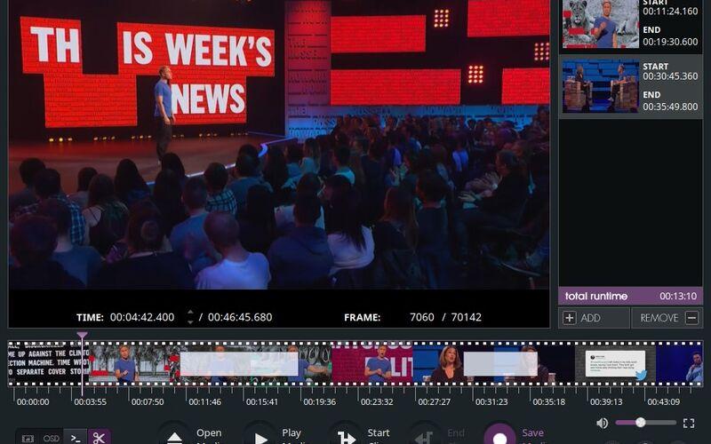 Скриншот 1 программы VidCutter