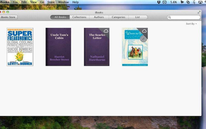 Скриншот 1 программы iBooks