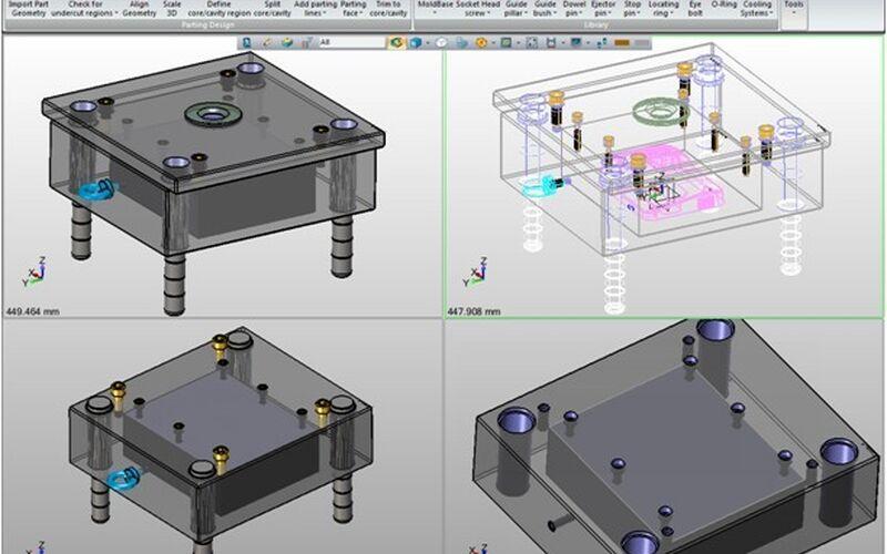Скриншот 1 программы ZW3D