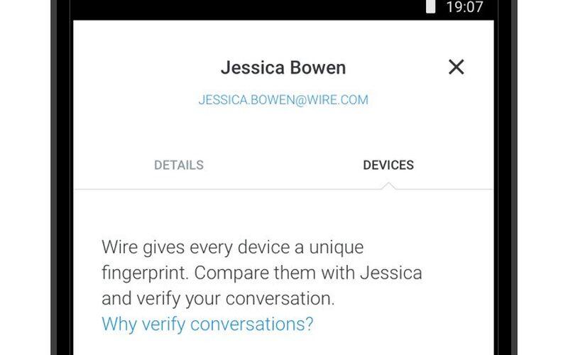 Скриншот 1 программы Wire