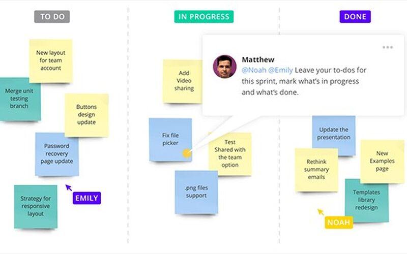 Скриншот 1 программы RealtimeBoard