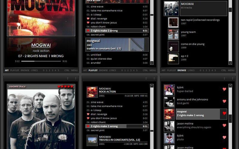 Скриншот 1 программы foobar2000