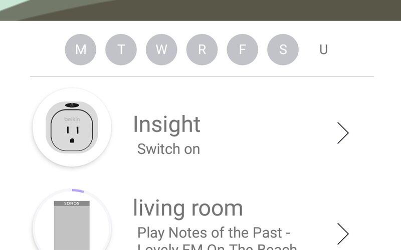 Скриншот 1 программы Yeti Smart Home