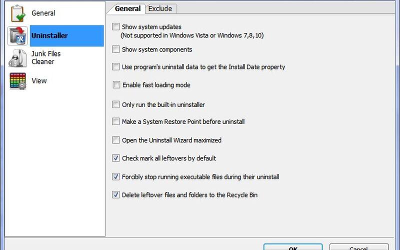 Скриншот 1 программы Revo Uninstaller