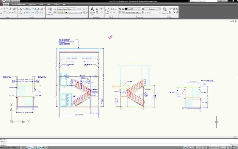 Скриншот 1 программы Autodesk AutoCAD