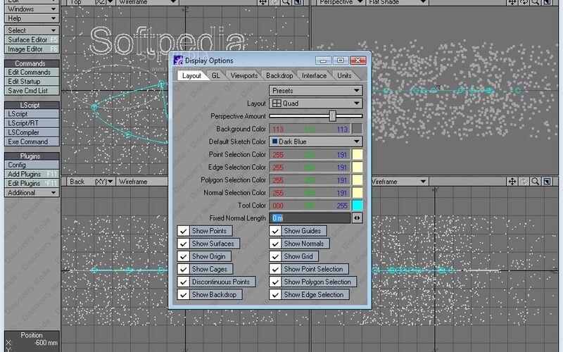 Скриншот 1 программы LightWave
