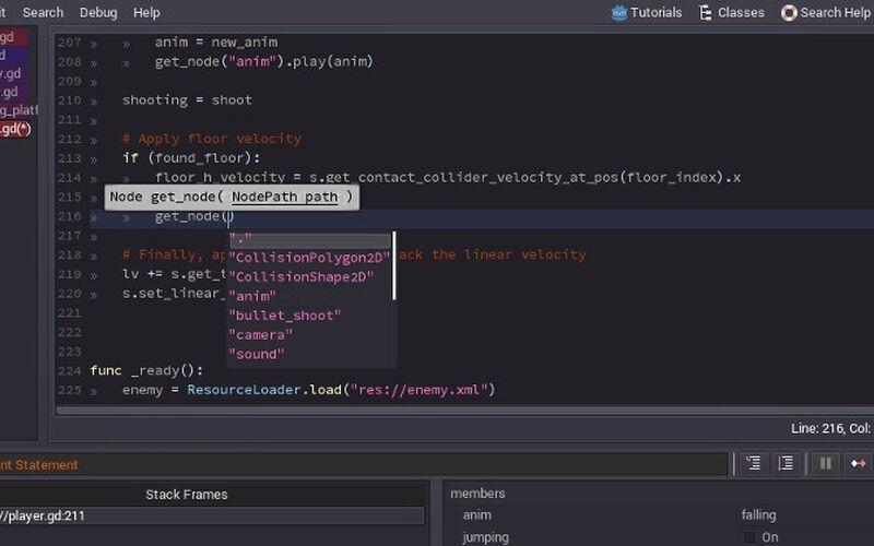 Скриншот 1 программы Godot Engine