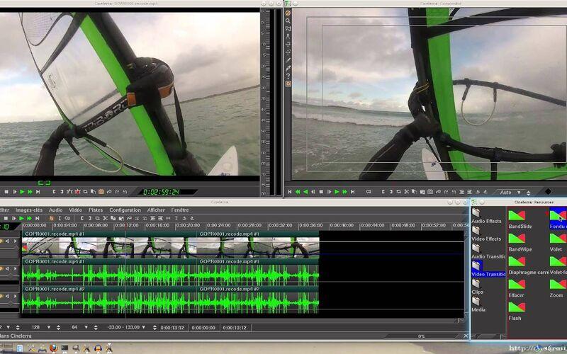 Скриншот 1 программы Cinelerra
