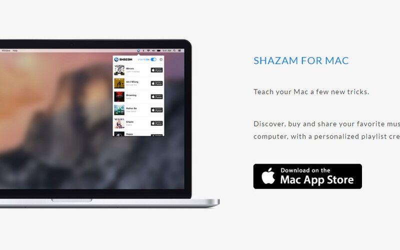 Скриншот 1 программы Shazam