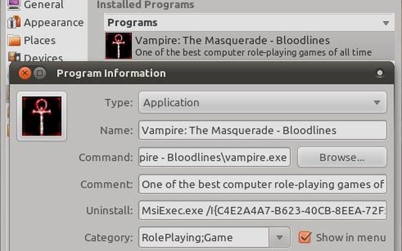 Скриншот 1 программы Vineyard