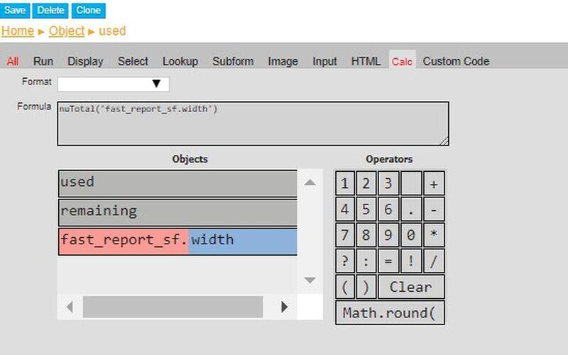 Скриншот 1 программы nuBuilder