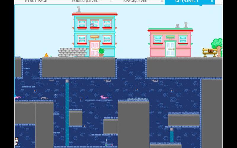 Скриншот 1 программы GDevelop